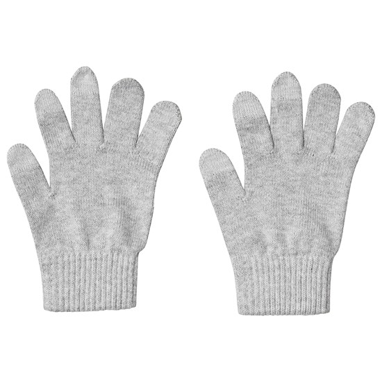 Reima Gloves (knitted), Ahven Melange grey