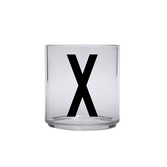 Design Letters Kids Personal Drinking glass X