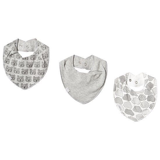 Fixoni Infinity Bib 3-Pack Oekotex Off White