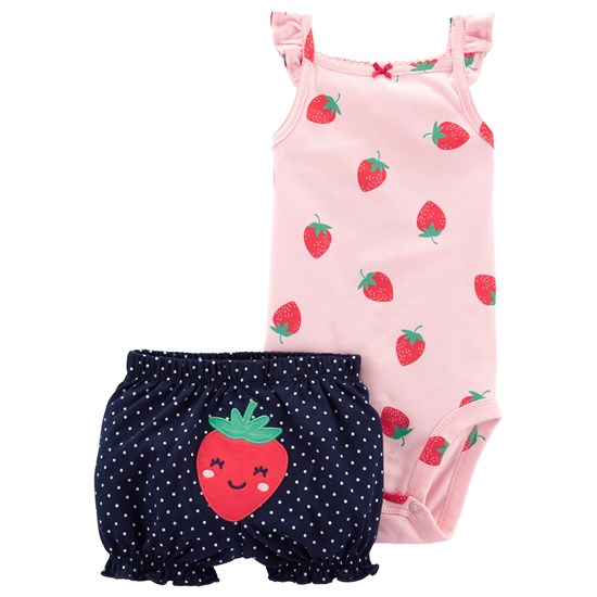 Carter's Girl Baby Boom Baby Boom Strawberry
