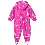 Ticket To Heaven Kody PU Rain Suit With Fleece Allover Raspberry Rose
