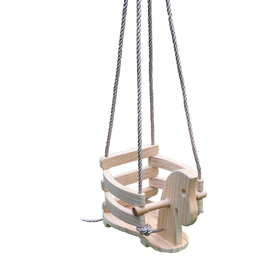 Oliver & Kids Wooden Baby Swing Horse