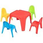 Oliver & Kids Set of table and 4 chairs