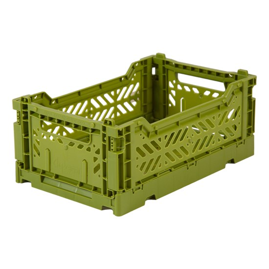 Aykasa Mini folding crate Olive