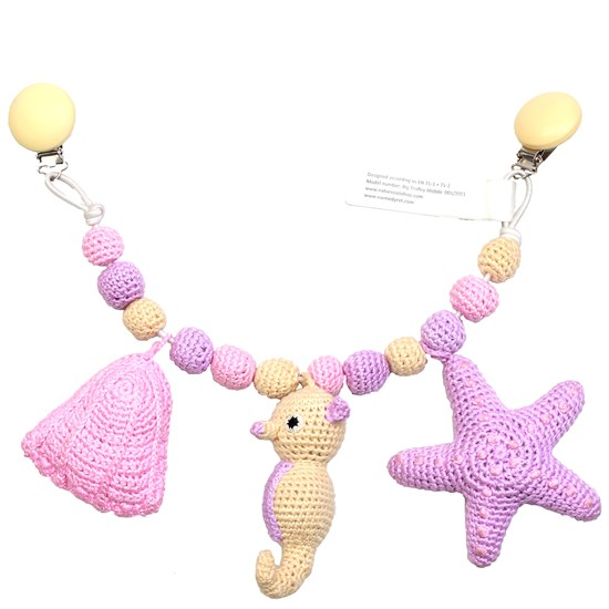 natureZOO Lage trolly mobile Starfish, Seahorse and Mussel
