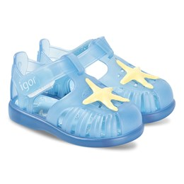 78072d2f Igor Blue Star Tobby Jelly Sandals
