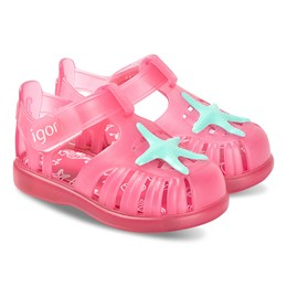 8cea6814 Igor Pink Star Tobby Jelly Sandals