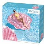 Intex Pink Seashell Island, 178x165x24 cm