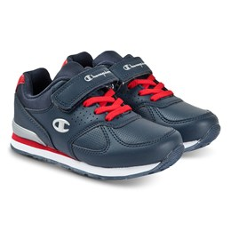 5552d31c4a8e Champion Navy Branded Retro Trainers