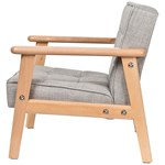 SG Furniture Kids Armchair Grey