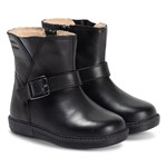 Geox Black Hynde Waterproof Leather Zip Boots