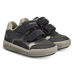 Geox Navy Arzach Double Velcro Trainers