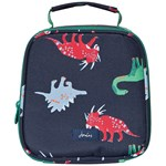 Joules Navy Dinos Printed Lunch Bag