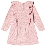 Minymo Dress LS With AOP Silver Pink