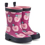 Hatley Pink Apple Orchard Wellies