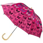 Hatley Pink Spotted Butterflies Umbrella