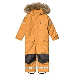 Kuling Verbier Kids Winter Coverall Yellow Mustard
