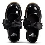 Dr. Martens Black Patent Maccy Bow Mary Jane Shoes