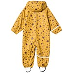 Celavi Rainwear Suit AOP With Fleece Mineral Yellow