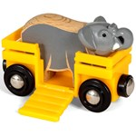 BRIO BRIO® World - 33969 Elephant and Wagon