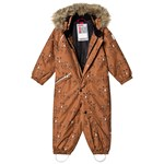 Reima Reimatec Winter Overall Lappi Cinnamon Brown