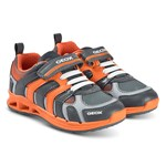 Geox Orange Dakin Light Up Trainers