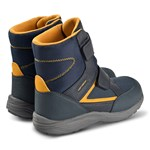 Geox Navy Kuray Amphibiox Waterproof Double Velcro Boots