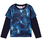 LEGO Wear Tiger T-Shirt Dark Navy