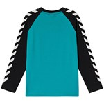 Hummel Boys T-Shirt L/S Black/Lake Blue