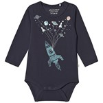 Minymo Body LS With Print Outer Space