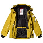 Reima Reimatec winter jacket Wheeler Yellow moss