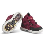 ECCO Urban Hiker Black/Red Plum
