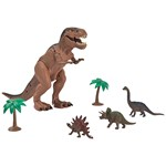 Redbox Dinosaur Playset With Light & Sound T-Rex