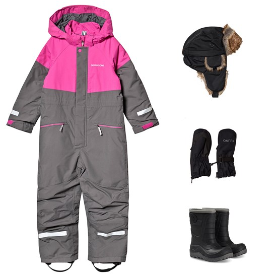 Didriksons Didriksons Cornelius WInter Coverall and Winter Boots and Accessories Grey