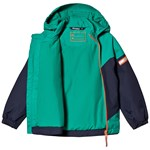 Bergans Ruffen Insulated Kids Jacket Navy Greenlake