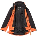 Helly Hansen Orange & Khaki Colourblock Junior Twister Jacket
