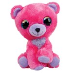 Lumo Stars Plush, Raspberry, Bear, 24 Cm