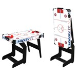 Best Time Toys Air hockey table with L graphic