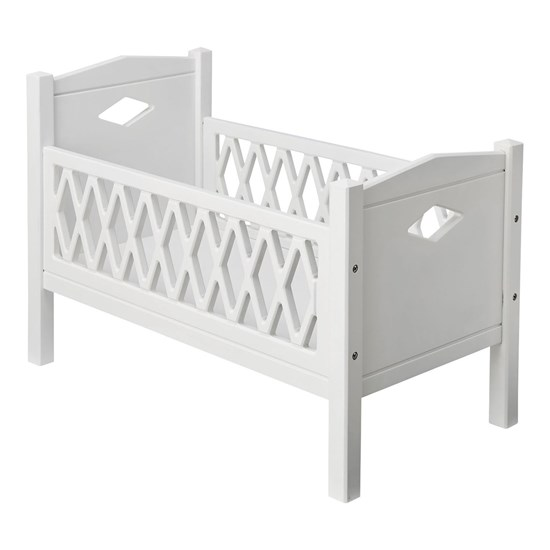 Cam Cam Harlequin Doll Bed White