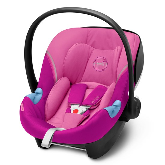 Cybex Aton M i-Size Infant Carrier Magnolia Pink