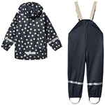 Kuling Cambridge Rain Set Navy Dot