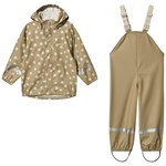 Kuling Cambridge Rain Set Sandy Beige Dot