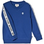 Timberland Blue Tape logo Sleeve and Tree Logo Sweatshirt