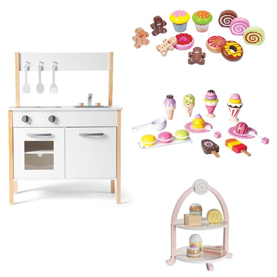 Stoy Wood Kitchen Scandinavian Classic and Cake Sets