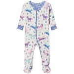 Hatley Playful Ponies Organic Cotton Footed Coverall