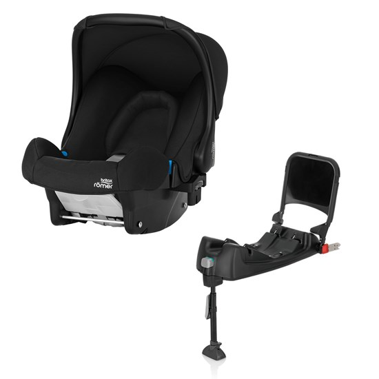 Britax Britax Baby-Safe Infant Carrier Cosmos Black + Baby Safe Isofix Base Black