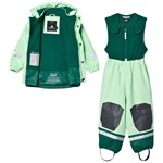Didriksons Boardman Kids Regnsett Split Green