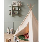 Kids Concept Tipi Tent, Off-White