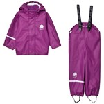 Celavi Basic rainwear set -solid PU Lilac