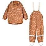 Kuling San Marino Recycled Rain Set Dots Brown